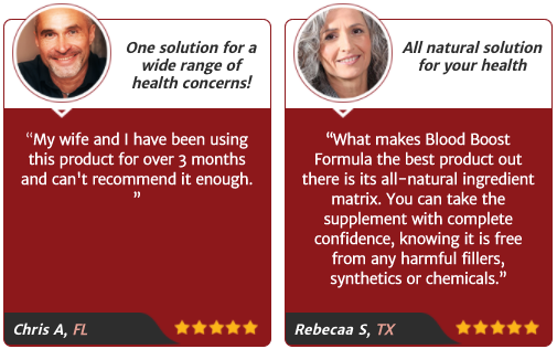 Blood Boost Formula Testimonial