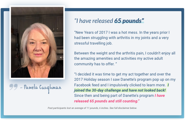 The 30 Day New You Challenge Testimonials